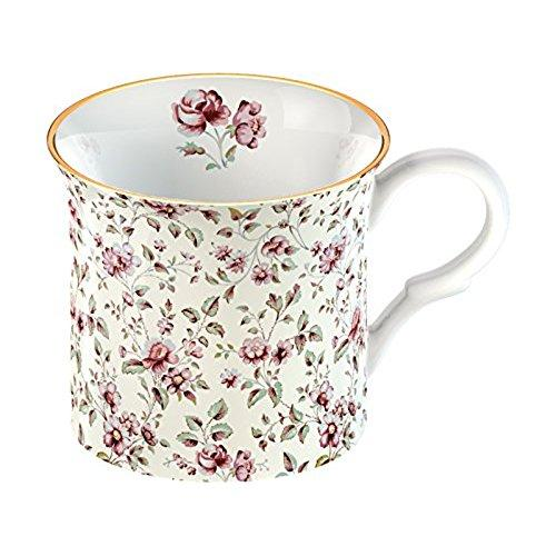 Katie Alice Ditsy Floral Fine Bone China White Floral Palace Mug
