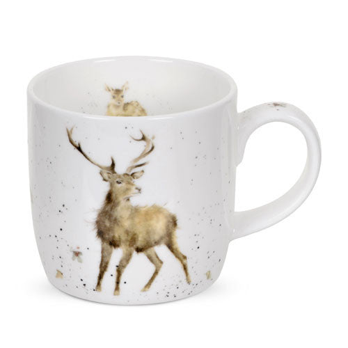 Royal Worcester Wrendale Designs Wild at Heart Mug 0.31L