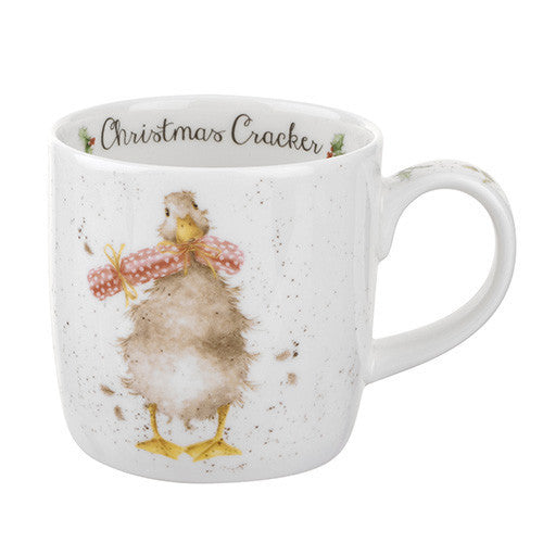 Royal Worcester Wrendale Christmas Cracker Mug 0.31L