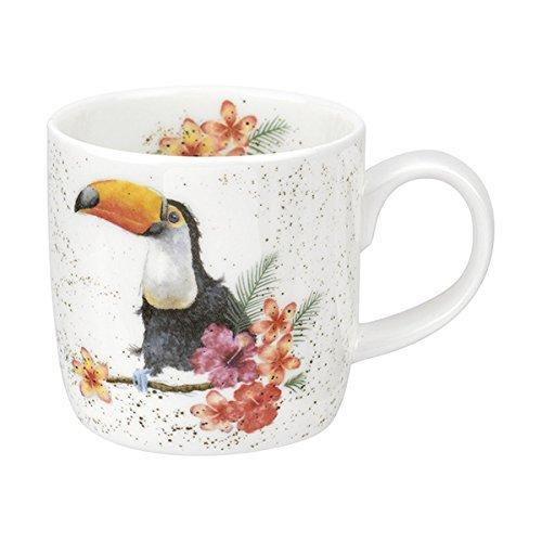 Royal Worcester Toucan Of My Affection Mug 0.31L