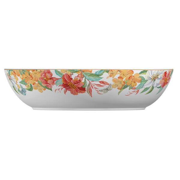Spode Maui White Low Bowl 33cm