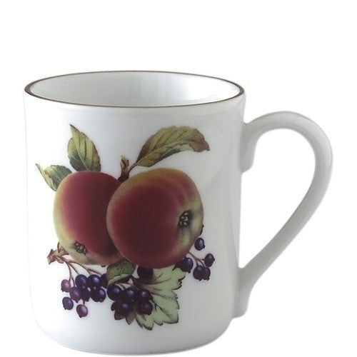 Royal Worcester Evesham Gold Apple and Blackcurrant Mug 0.34L