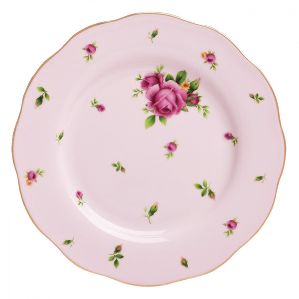 Royal Albert New Country Roses Pink Vintage Salad Plate 20cm