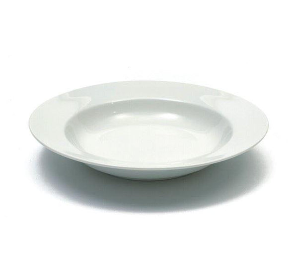 Maxwell and Williams White Basics Rim Soup Plate 23cm