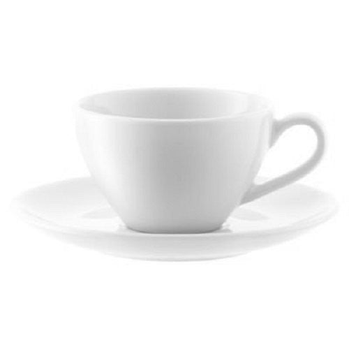 LSA Dine White Espresso Cup and Saucer 0.10L (Set of 4)