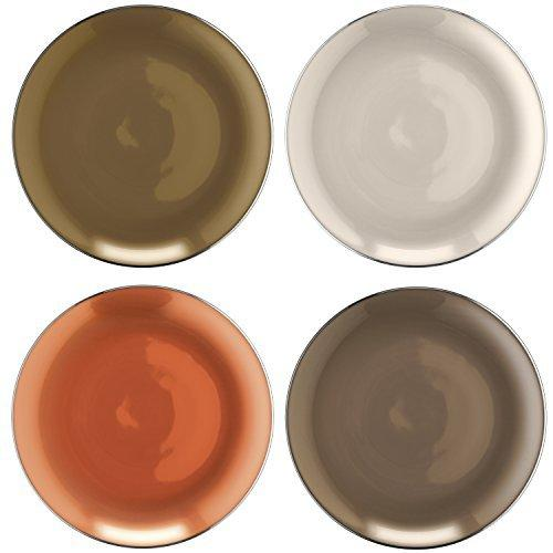 LSA Polka Metallics Dish 9.5cm (Assorted Set of 4)