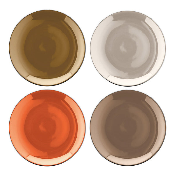 LSA Polka Metallic Teaplate 16cm (Set of 4)