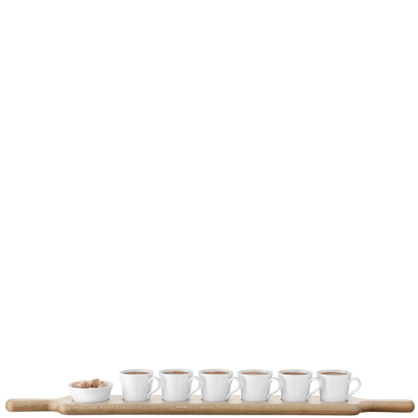LSA Paddle Espresso Set with Oak Paddle 74cm