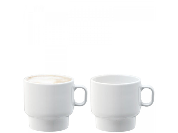 LSA Utility White Espresso Cup 70ml (Set of 2)