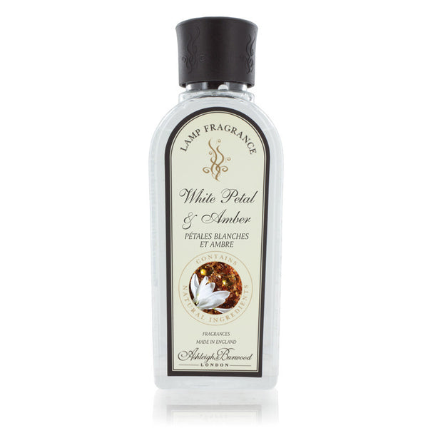 Ashleigh and Burwood White Petal and Amber Lamp Fragrance 0.25L