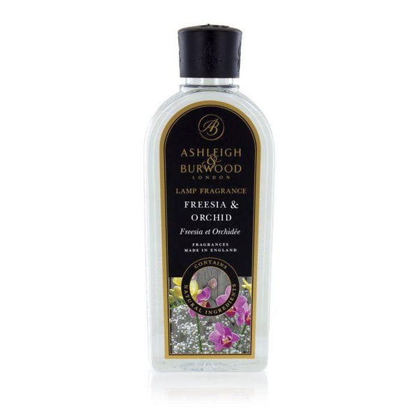 Ashleigh and Burwood Sweet and Floral Fressia and Orchid Lamp Fragrance 0.50L