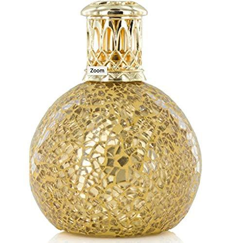 Ashleigh and Burwood Gold Golden Orb Small Fragrance Lamp