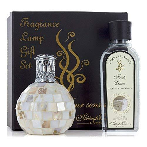 Ashleigh and Burwood Heritage Collection Arctic Tundra and Fresh Linen Small Gift Set with Fragrance 0.25L
