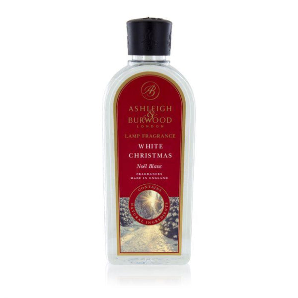 Ashleigh and Burwood White Christmas Vanila, Rose, Cashmere Musk Lamp Fragrance 0.50L