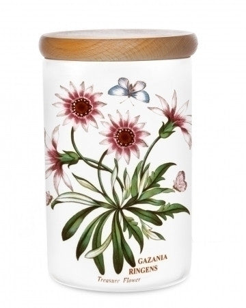 Portmeirion Botanic Garden Airtight Jar 20cm (Assorted Designs)