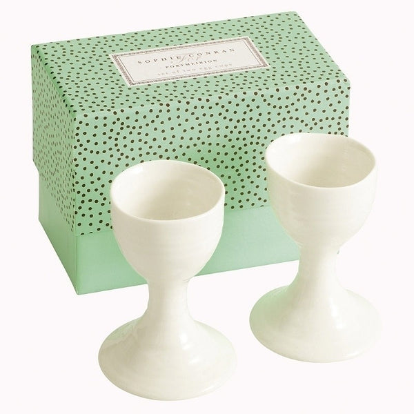 Portmeirion Sophie Conran White 2 Egg Cups
