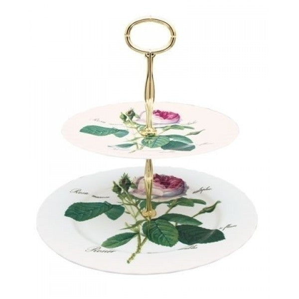 Roy Kirkham Redoute Rose Cake Stand