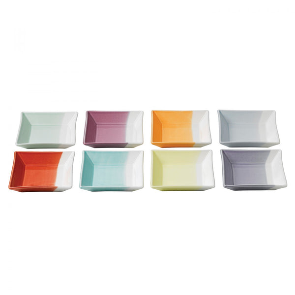 Royal Doulton 1815 Tapas Set of 8 Square Trays 12cm