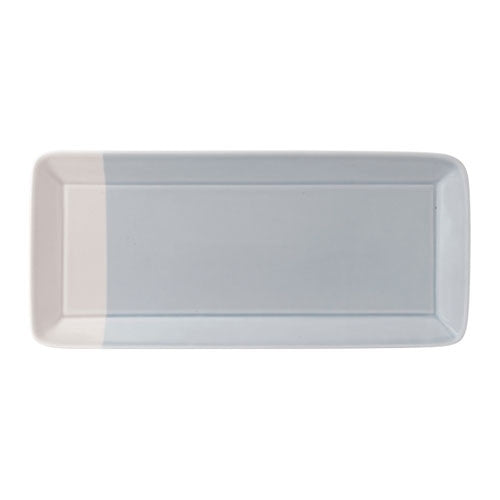 Royal Doulton 1815 Blue Rectangular Tray 39.5cm by 18cm