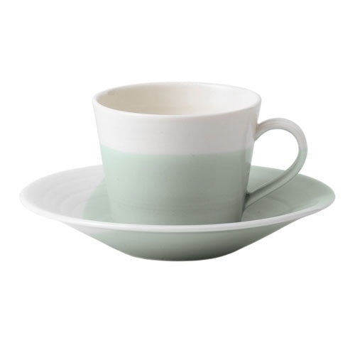 Royal Doulton 1815 Green Espresso Cup Saucer (Saucer Only)