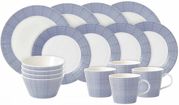 Royal Doulton Pacific Blue 16 Piece Set