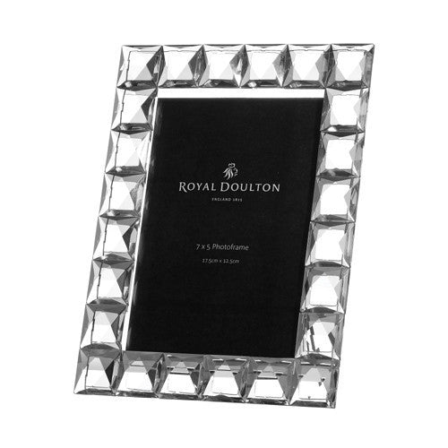 Royal Doulton Radiance Diamond Photo Frame 7 Inch by 5 Inch