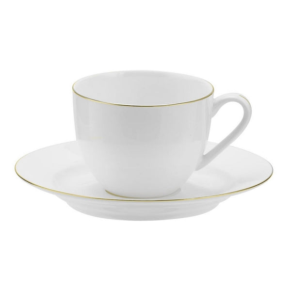 Royal Worcester Serendipity Gold Teacup and Saucer 0.22L (Set of 4)