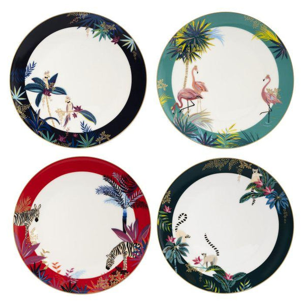 Portmeirion Sara Miller London Tahiti Dinner Plates 28cm (Assorted Design)