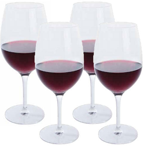 Dartington Crystal Festive Cheer Red Wine Glass 0.50L (Set of 4)