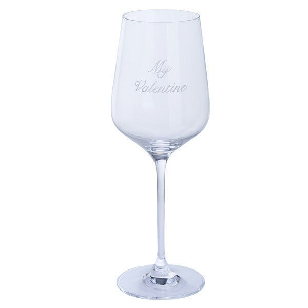 Dartington Crystal Just For You Valentines Wine Glass (Single)