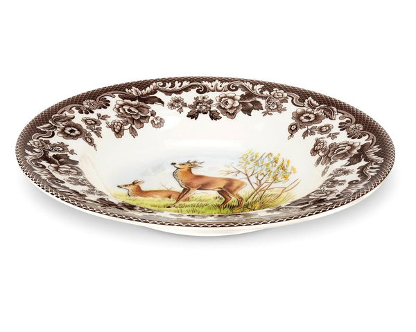 Spode Woodlands Deer Soup Plate 23cm