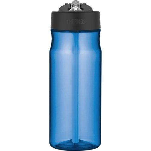 Thermos Hydration Blue Water Bottle with Straw 0.53L
