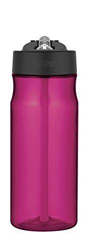 Thermos Hydration Magenta Water Bottle with Straw 0.53L
