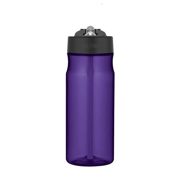 Thermos Hydration Purple Water Bottle with Straw 0.53L
