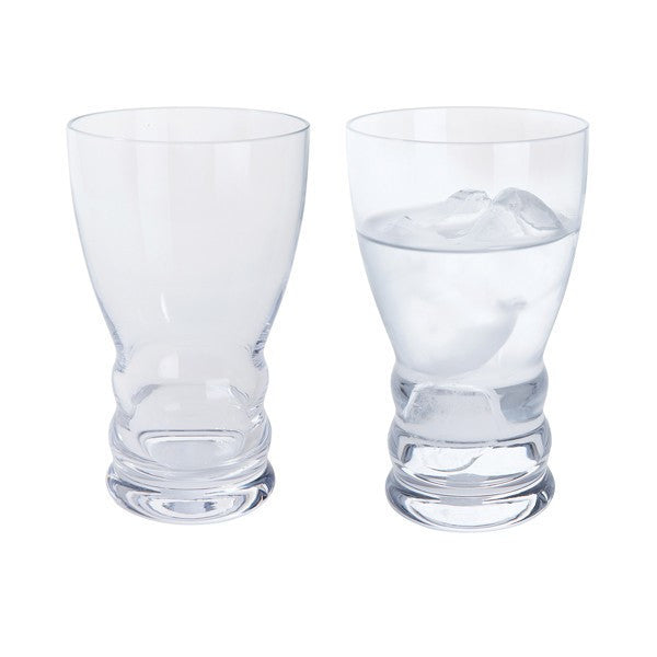 Dartington Crystal Wibble Water Glass (Pair)
