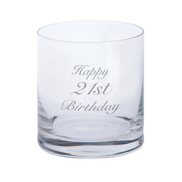Dartington Crystal Just For You Happy1st Birthday Tumbler 0.28L (Single)
