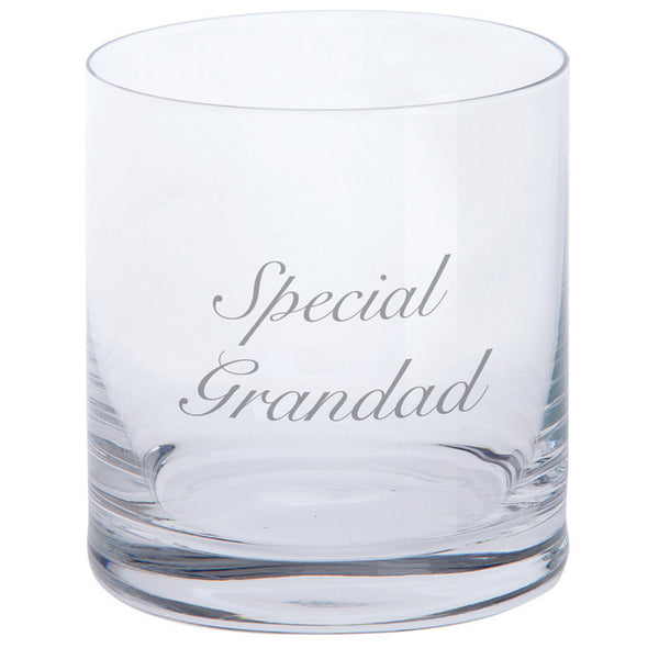 Dartington Crystal Just For You Special Grandad Tumbler 0.28L (Single)