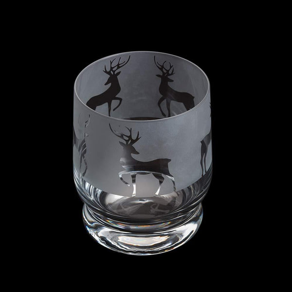 Dartington Crystal Aspect Reindeer Tumbler 10cm /0.35L