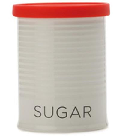 Maxwell and Williams Clearance Canister 0.5L Sugar Red