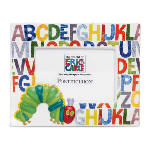 Portmeirion The Very Hungry Caterpillar ABC Photo Frame