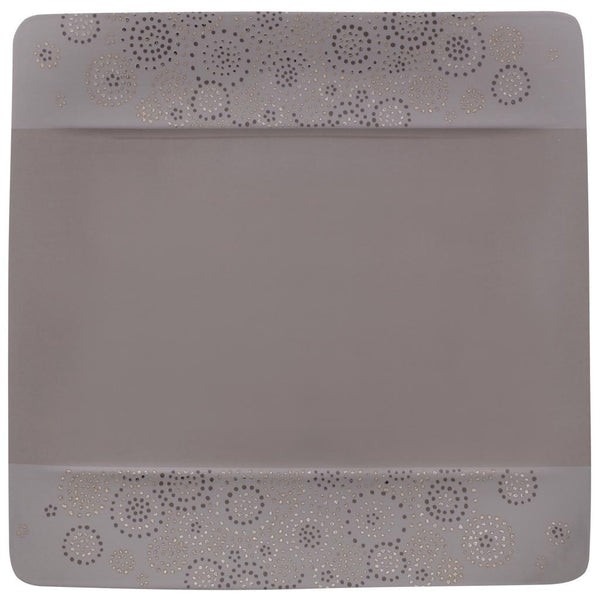 Villeroy and Boch Modern Grace Grey Salad Plate Uni 23cm by 23cm