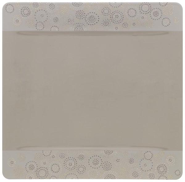 Villeroy and Boch Modern Grace Grey Buffet Plate 35cm by 35cm