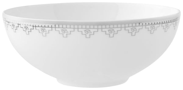 Villeroy and Boch White Lace Cereal Bowl 13cm