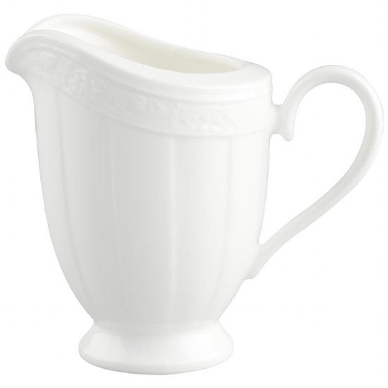 Villeroy and Boch White Pearl Creamer 0.25L