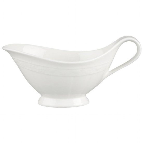 Villeroy and Boch White Pearl Sauceboat 0.40L (Sauce Boat Only)