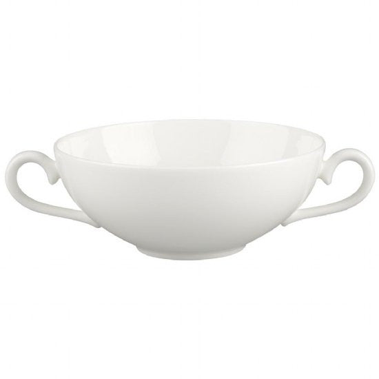 Villeroy and Boch White Pearl Soup Cup 0.40L (Cup Only)