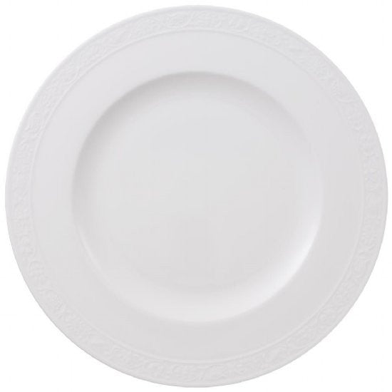 Villeroy and Boch White Pearl Dinner Plate 27cm