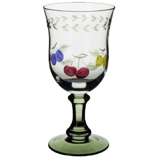 Villeroy and Boch French Garden Set Of 4 Water Goblets 17cm