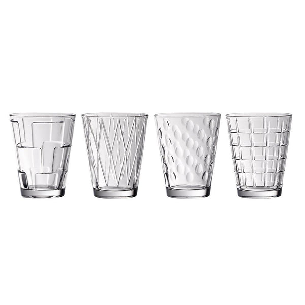 Villeroy and Boch Dressed Up Water Glasses (Set of 4)