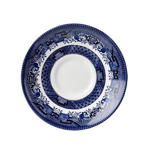 Churchill China Blu Willow Tea Saucer 14cm (Set Of 6)